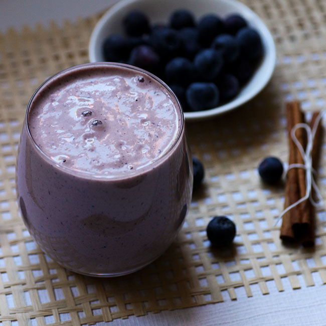 Berry Cinnamon Smoothie