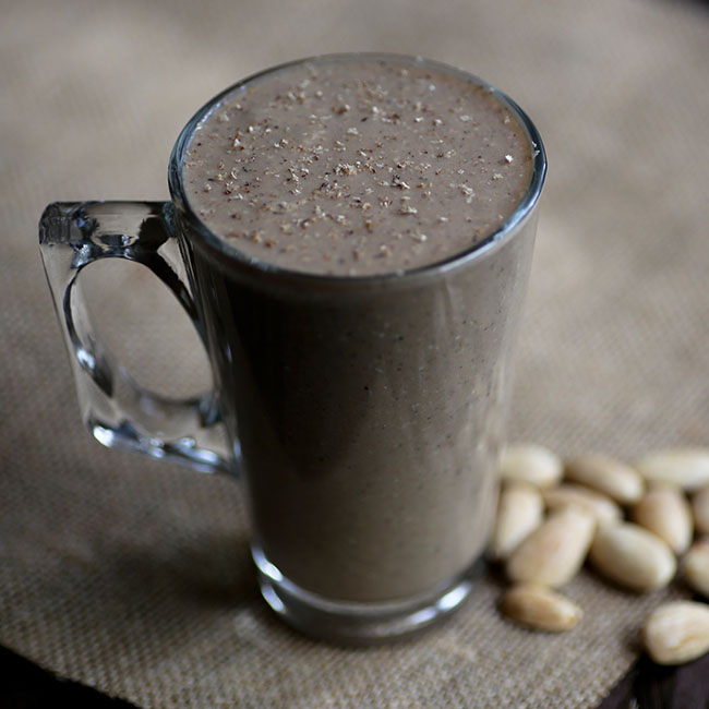 NuZest Mocha Monkey Smoothie