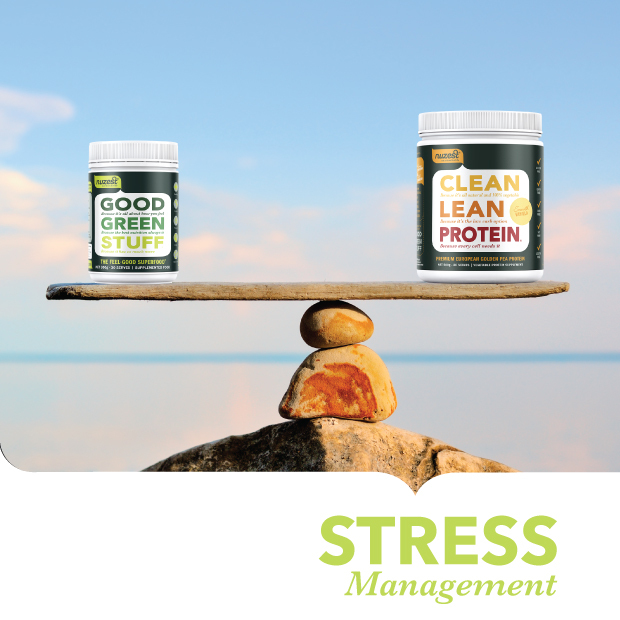 Transform stress using food and nutrition