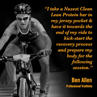 A professional athlete's review of Nuzest Clean Lean Protein Bars