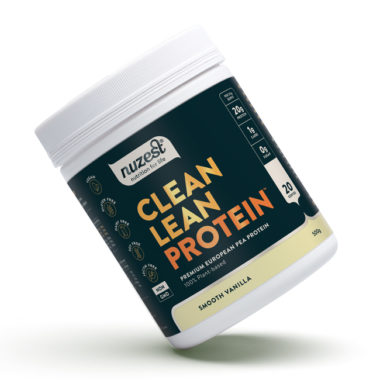 Nuzest Clean Lean Protein premium European golden pea protein powder