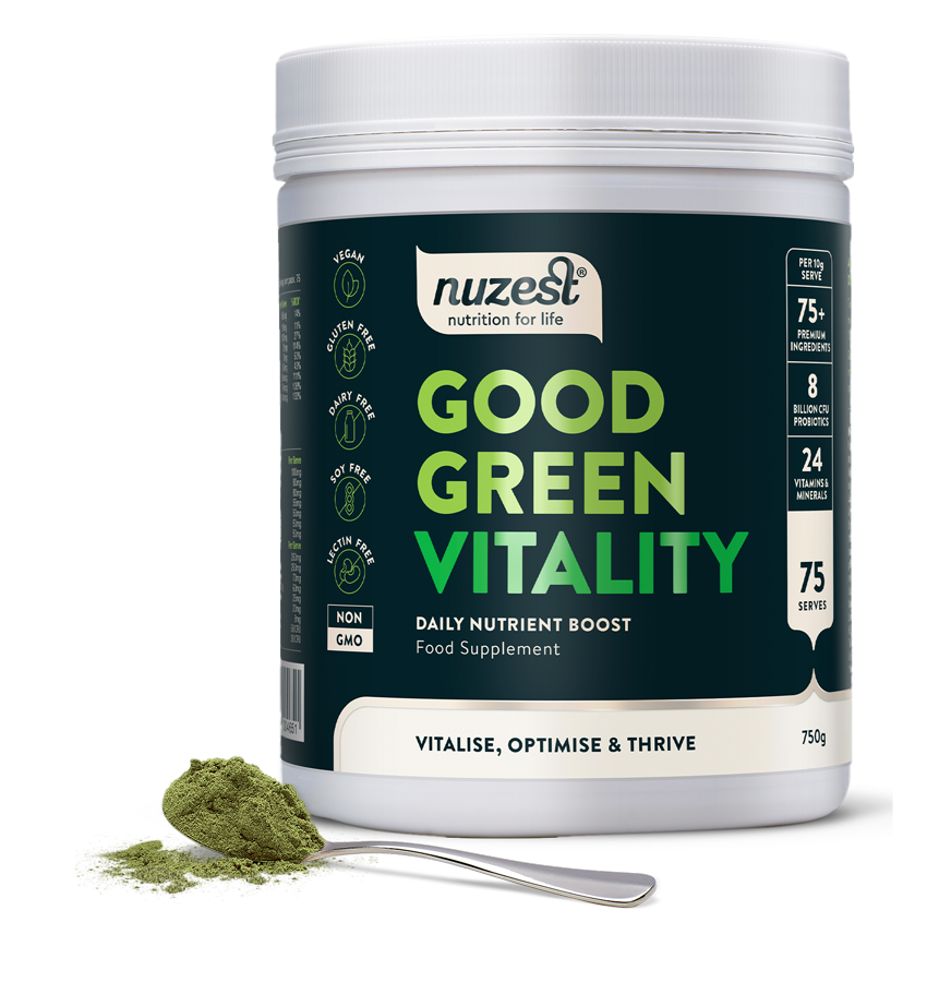 Nuzest Good Green Vitality - the ultimate daily nutritional supplement